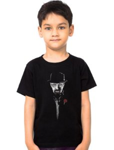 Camiseta Infantil Heisenberg The Danger - Final Battle Nerd e Geek - Presentes Criativos