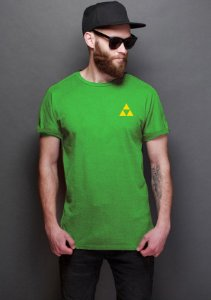 Camiseta Masculina Triforce- Nerd e Geek - Presentes Criativos
