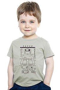 Camiseta Infantil Super Nintendo - Nerd e Geek - Presentes Criativos