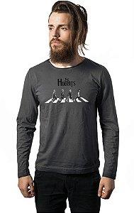 Camiseta Masculina Manga Longa The Hobbits - Nerd e Geek - Presentes Criativos