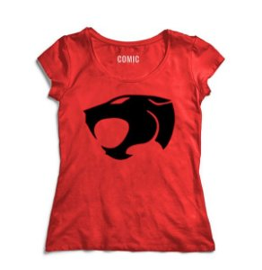 Camiseta Feminina Thundercats - Pantera - Nerd e Geek - Presentes Criativos