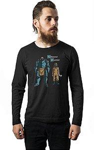Camiseta Masculina  Manga Longa Fullmetal alchemist - Nerd e Geek - Presentes Criativos