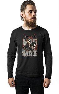 Camiseta Masculina Manga Longa Mad Max - Nerd e Geek - Presentes Criativos