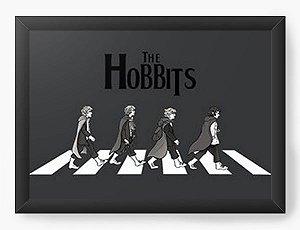 Quadro Decorativo A3 (45X33) The Hobbits - Nerd e Geek - Presentes Criativos