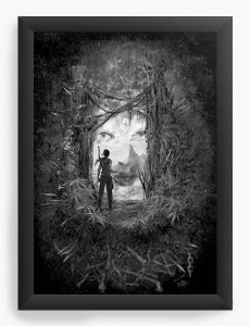Quadro Decorativo A4 (33X24) Tomb Reborn  - Nerd e Geek - Presentes Criativos
