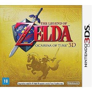 The Legend Of Zelda: Ocarina Of Time - Nintendo 3D - Nerd e Geek - Presentes Criativos