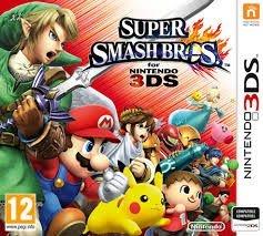 Super Smash Bros. - Nintendo 3Ds - Nerd e Geek - Presentes Criativos