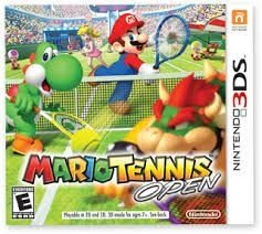 Mario Tennis Open - 3Ds - Nerd e Geek - Presentes Criativos