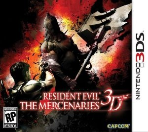 Resident Evil: The Mercenaries 3D - 3Ds - Nerd e Geek - Presentes Criativos