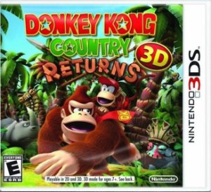 Donkey Kong: Country Returns 3D - 3Ds - Nerd e Geek - Presentes Criativos