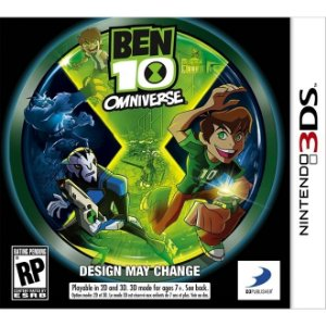 Ben 10 Omniverse - 3Ds - Nerd e Geek - Presentes Criativos