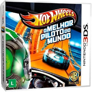 Hot Wheels - O Melhor Piloto Do Mundo - Nintendo 3Ds - Nerd e Geek - Presentes Criativos