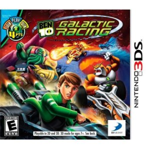 Ben 10 Galactic Racing - 3Ds - Nerd e Geek - Presentes Criativos