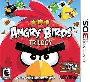 Angry Birds Trilogy - 3Ds - Nerd e Geek - Presentes Criativos