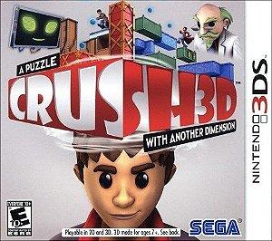 Crush 3D - 3Ds - Nerd e Geek - Presentes Criativos