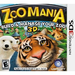 Zoo Mania - 3Ds - Nerd e Geek - Presentes Criativos