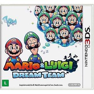 Luigi: Dream Team - 3Ds - Nerd e Geek - Presentes Criativos