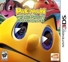 Pac-Man And The Ghostly - Adventures - 3Ds - Nerd e Geek - Presentes Criativos
