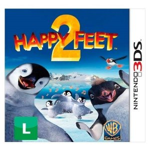 Happy Feet 2 - 3Ds - Nerd e Geek - Presentes Criativos