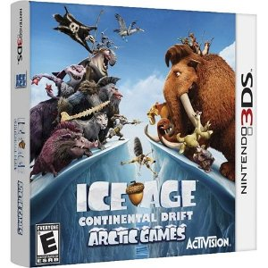 Ice Age Continental Drift - Arctic Games - 3Ds - Nerd e Geek - Presentes Criativos