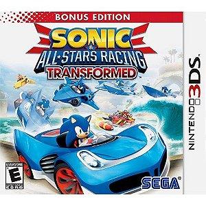 Sonic & All-Stars Racing Transformed - Bonus Edition - 3Ds - Nerd e Geek - Presentes Criativos