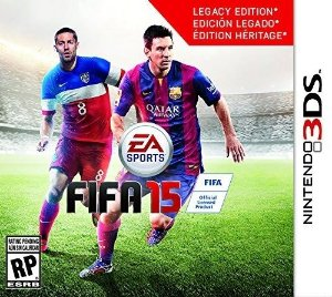 Fifa 15 N3Ds - Nerd e Geek - Presentes Criativos