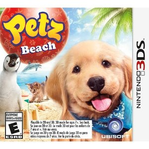 Game Petz Beach - Nintendo 3Ds - Nerd e Geek - Presentes Criativos