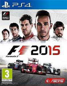 F1 2015 - Ps4 - Nerd e Geek - Presentes Criativos