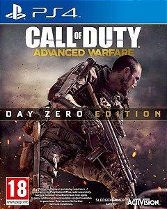Call Of Duty: Advanced Warfare - Edição Day Zero - Ps4 - Nerd e Geek - Presentes Criativos