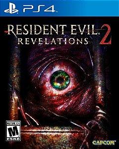 Resident Evil Revelations 2 - Ps4 - Nerd e Geek - Presentes Criativos