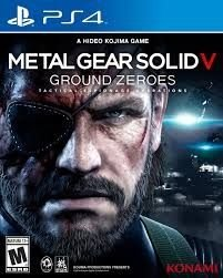 Metal Gear Solid V: Ground Zeroes - Ps4 - Nerd e Geek - Presentes Criativos