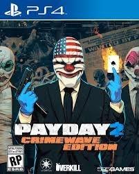 Payday 2: Crimewave Edition - Ps4 - Nerd e Geek - Presentes Criativos