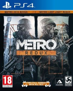 Metro Redux - Ps4 - Nerd e Geek - Presentes Criativos