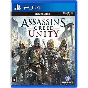 Assassin'S Creed Unity: Signature Edition - Ps4 - Nerd e Geek - Presentes Criativos