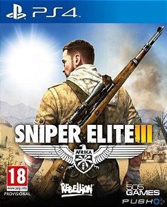 Sniper Elite 3 - Ps4 - Nerd e Geek - Presentes Criativos