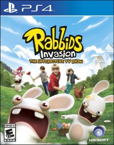 Rabbids Invasion: The Interactive Tv Show - Ps4 - Nerd e Geek - Presentes Criativos