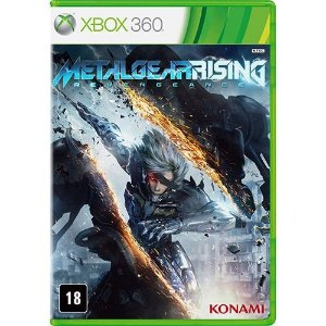 Metal Gear Rising - Xbox 360 - Nerd e Geek - Presentes Criativos