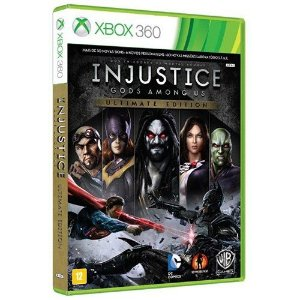 Injustice - Gods Amoung Us Ultimate Edition - Xbox 360 - Nerd e Geek - Presentes Criativos