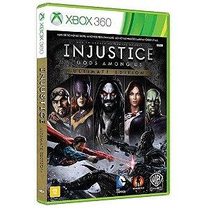 Injustice - Gods Amoung Us Ultimate Edition - Xbox 360 - Nerd e Geek - Presentes Criativos