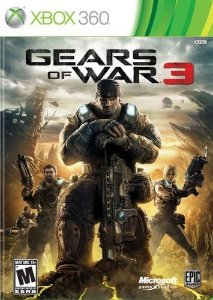 Gears Of War 3 - Xbox 360 - Nerd e Geek - Presentes Criativos