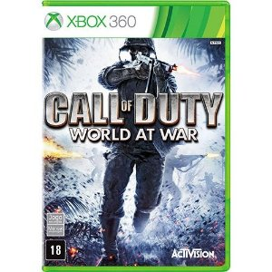 Call Of Duty World At War - Xbox 360 - Nerd e Geek - Presentes Criativos
