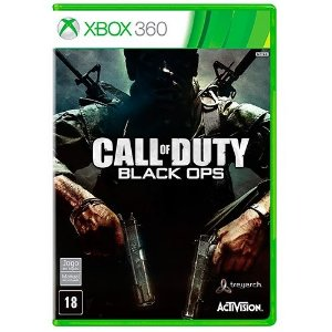 Call Of Duty Black Ops - Xbox 360 - Nerd e Geek - Presentes Criativos