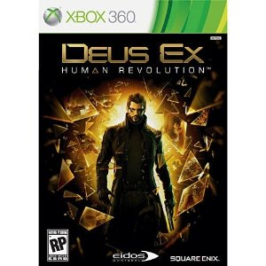 Deus Ex: Human Revolution - X360 - Nerd e Geek - Presentes Criativos