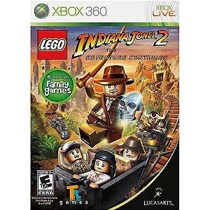 Lego Indiana Jones 2: The Adventure Continues - Xbox 360 - Nerd e Geek - Presentes Criativos