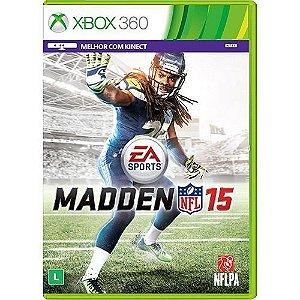 Madden Nfl 15 - Xbox 360 - Nerd e Geek - Presentes Criativos