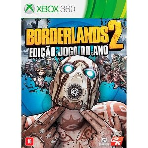 Borderlands 2 Goty - Xbox 360 - Nerd e Geek - Presentes Criativos