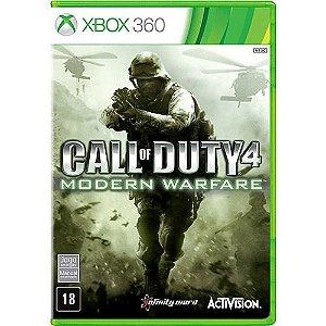 Call Of Duty Modern Warfare - Xbox 360 - Nerd e Geek - Presentes Criativos