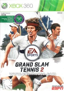 Grand Slam Tennis Ii - Xbox 360 - Nerd e Geek - Presentes Criativos