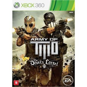 Army Of Two: The Devils Cartel Br - Xbox360 - Nerd e Geek - Presentes Criativos