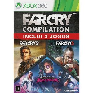 Far Cry Compilation - Xbox 360 - Nerd e Geek - Presentes Criativos